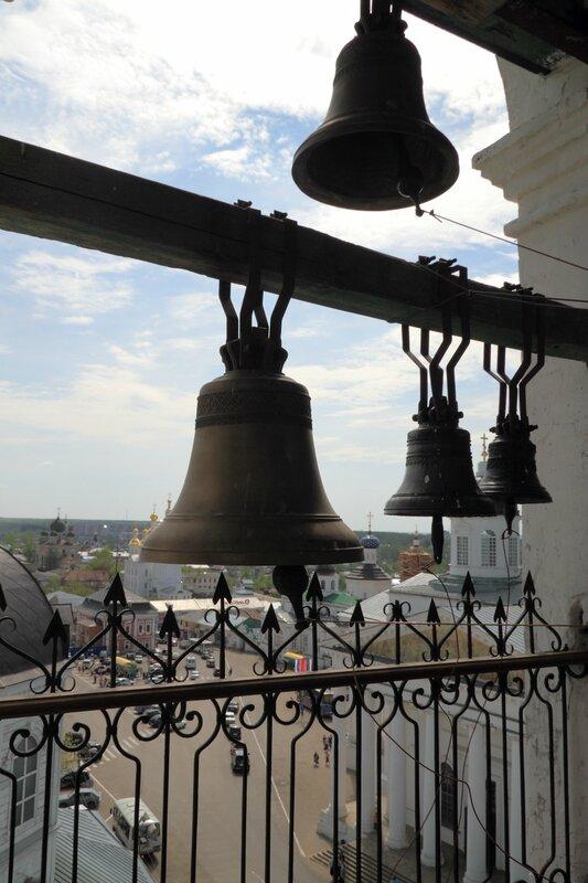 Вид с колокольни церкви Живоносного источника