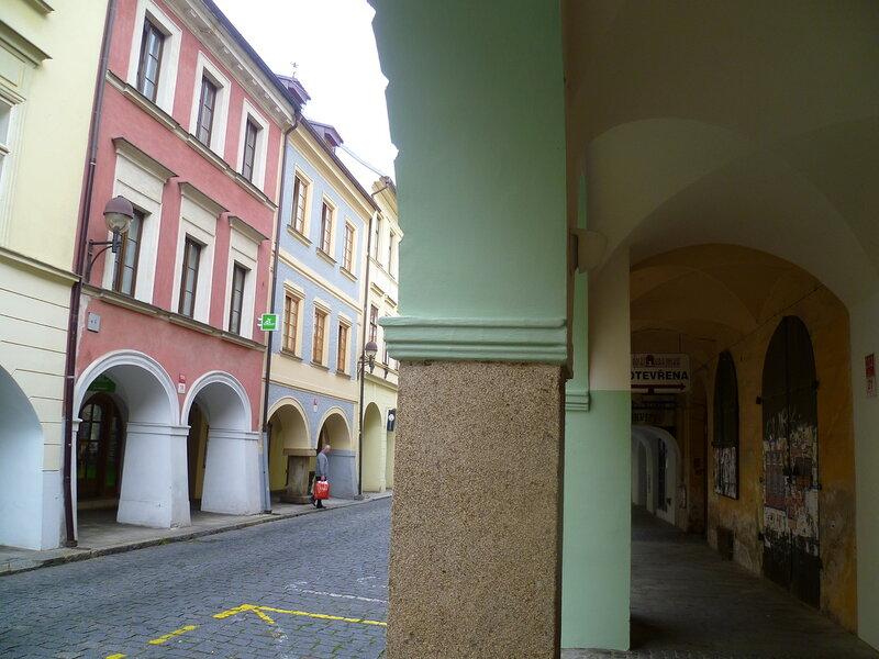 Улицы в Ческе-Будеёвице, Чехия (Streets in Ceske Budejovice, Czech Republic)
