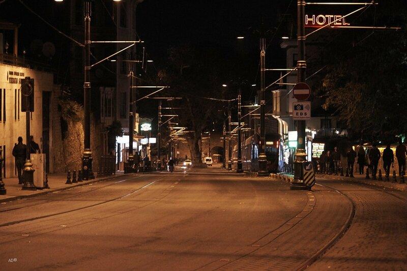 улица Алемдар в квартале Султананахмет