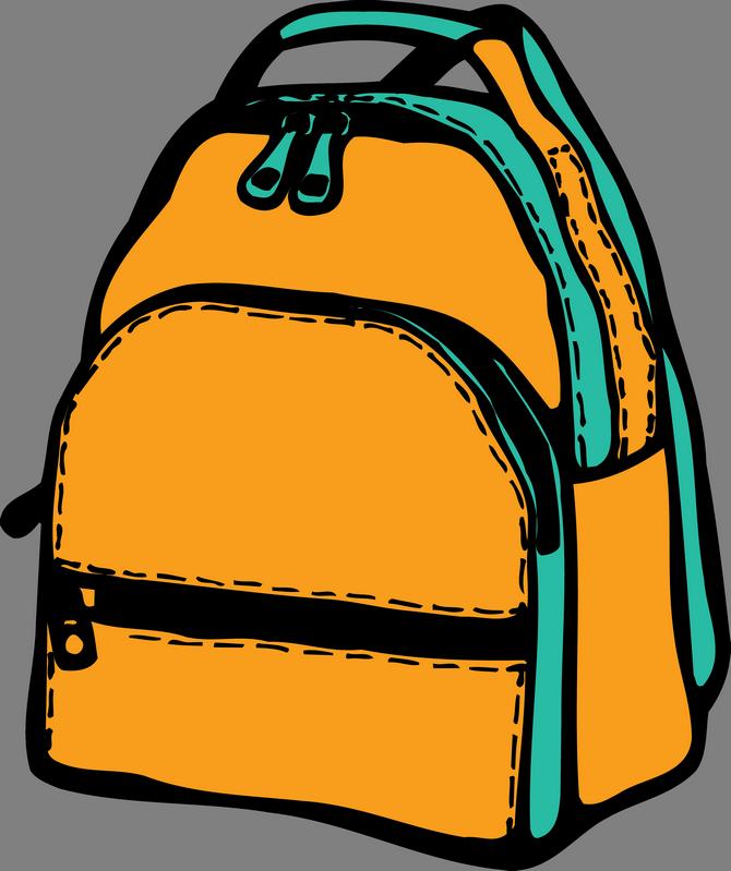 Картинка открытого портфеля