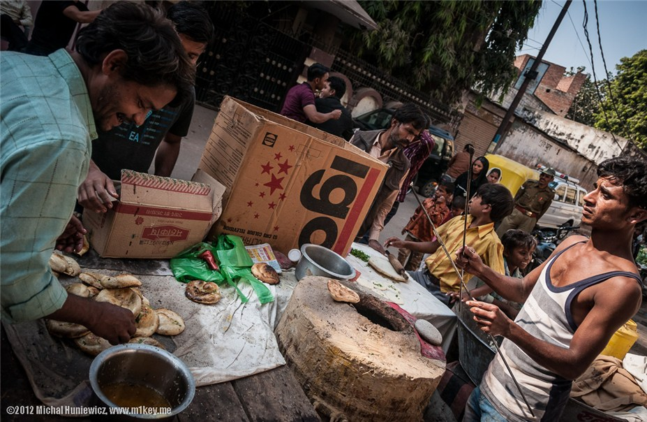 Уличная еда - путешествие по Индии / India by Michal Huniewicz
