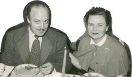 Джордж и Джаннетт Баркеры, 1953 г. © автор неизвестен