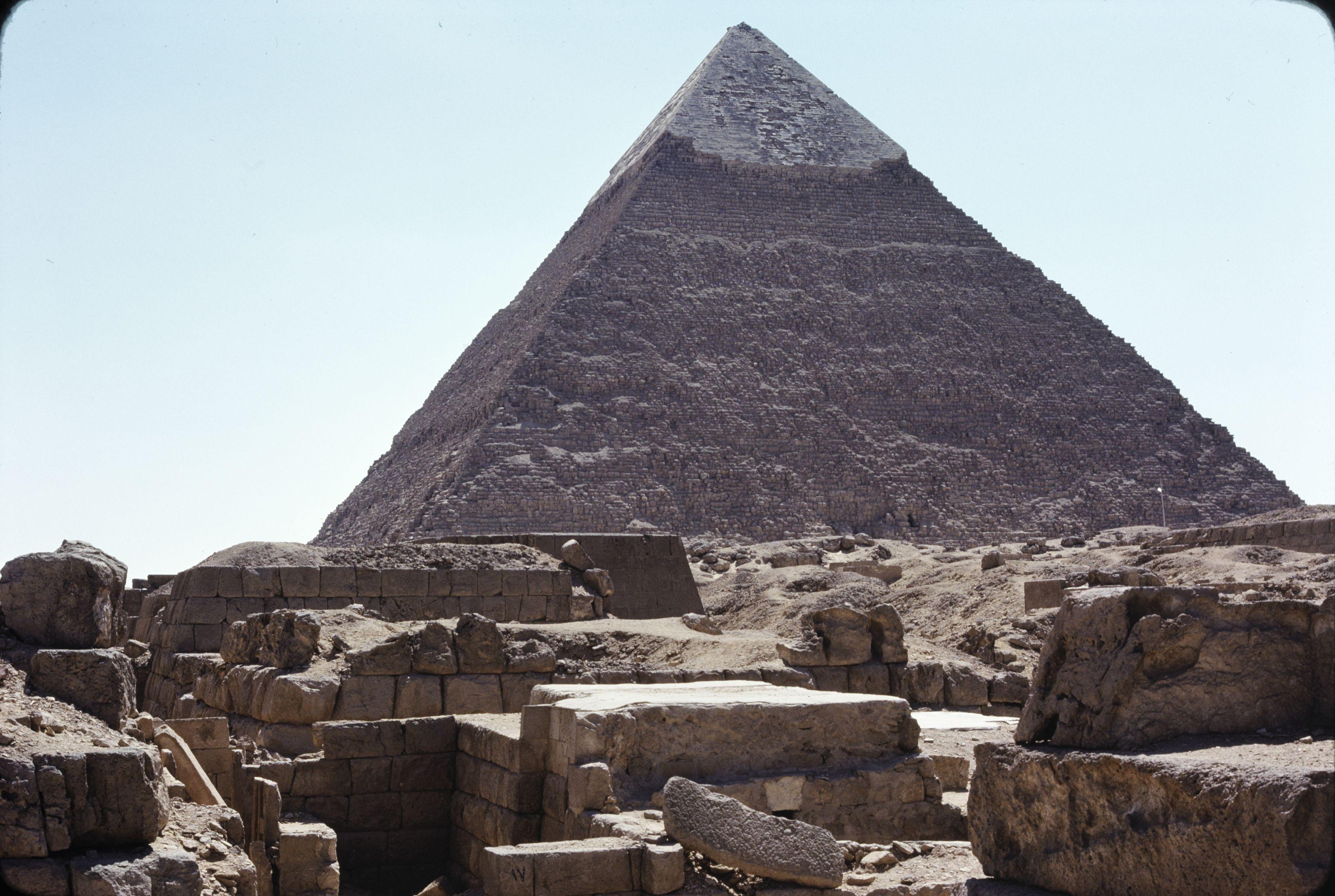 05. Гиза. Пирамида Хефрена