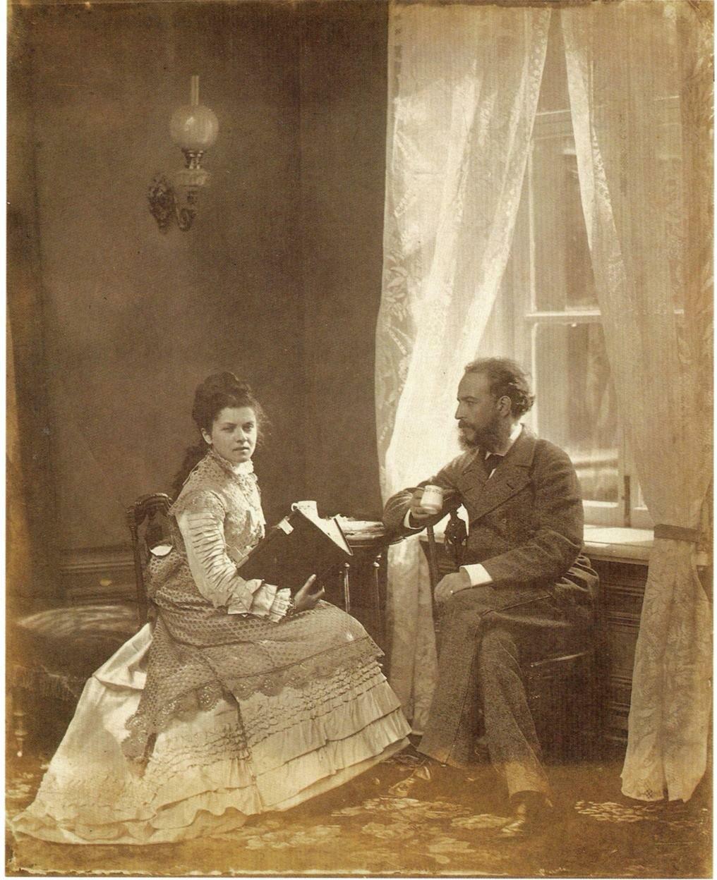 Супруги Зеленецкие