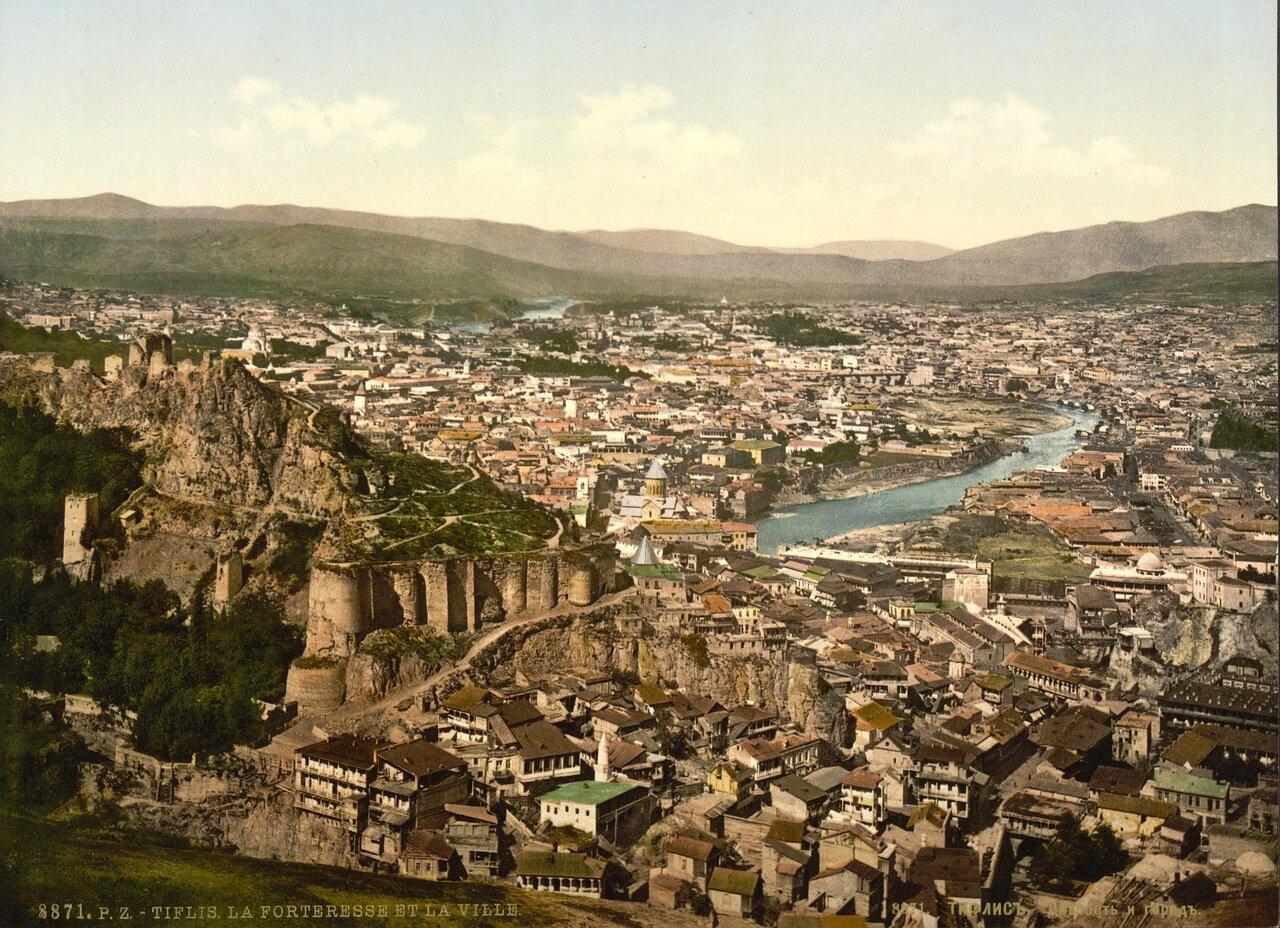 Крепость и город