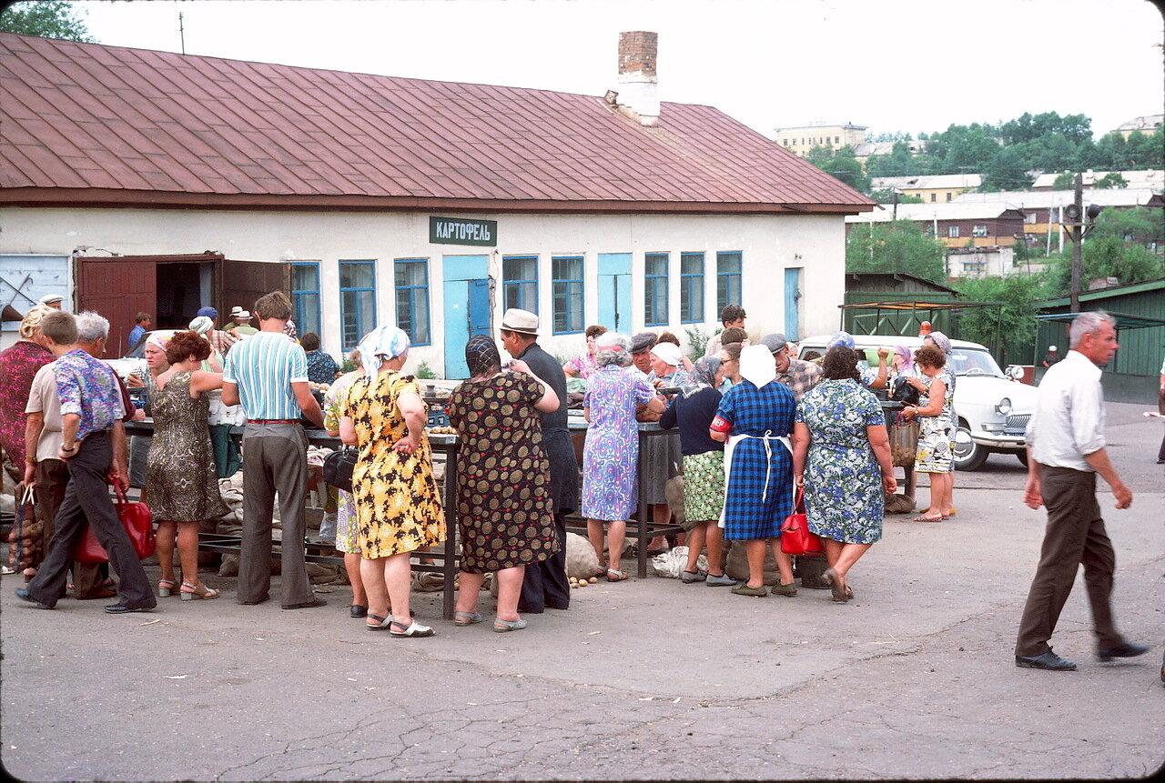 На колхозном рынке Хабаровска