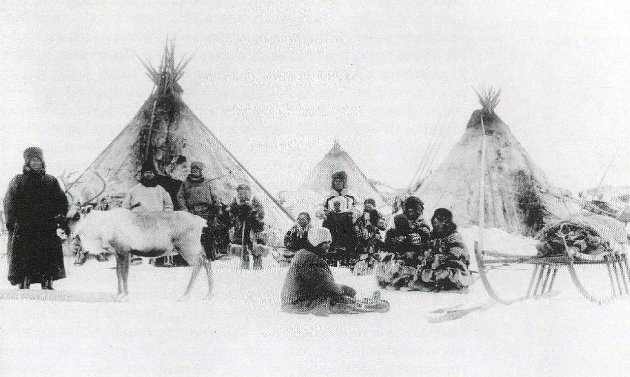 Мезенские ненцы.1894