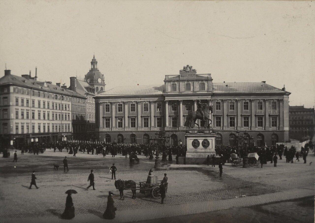 Старая опера в Стокгольме
