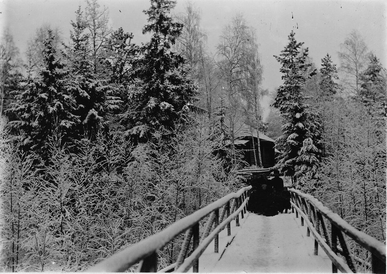 Мост к домам инженеров