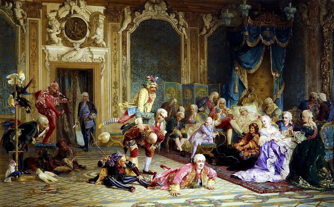 Валерий Иванович Якоби (1834-1902). Шуты при дворе императрицы Анны Иоанновны