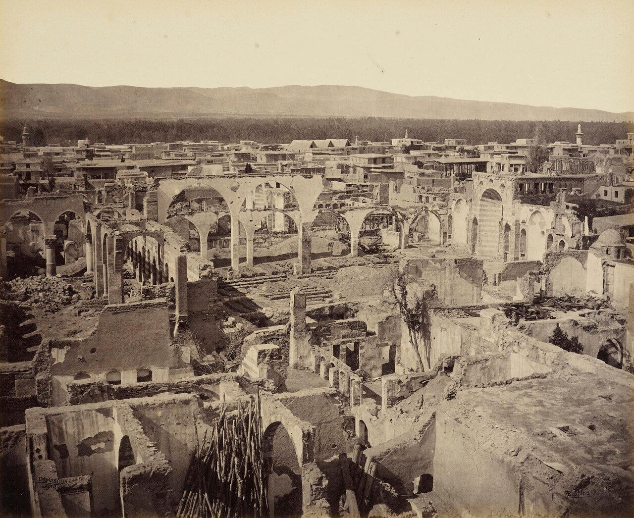 30 апреля 1862. Руины греческой церкви в христианском квартале Дамаска