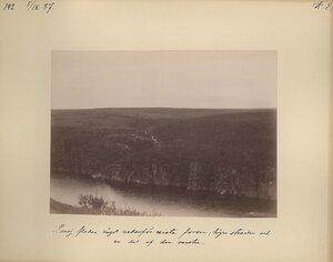 5.9.1887 в 18-19 часов. Панорама реки Поной