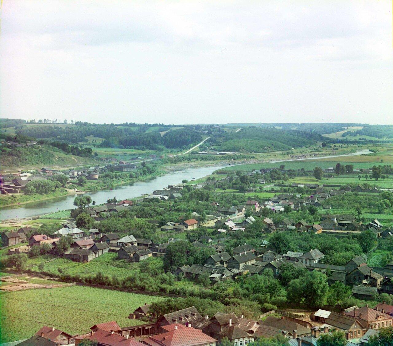Вид на Днепр с башни Веселуха