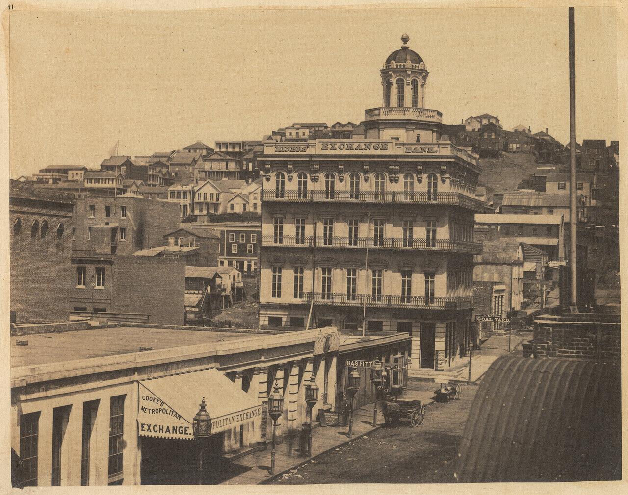 Вид с западной стороны Монтгомери-стрит