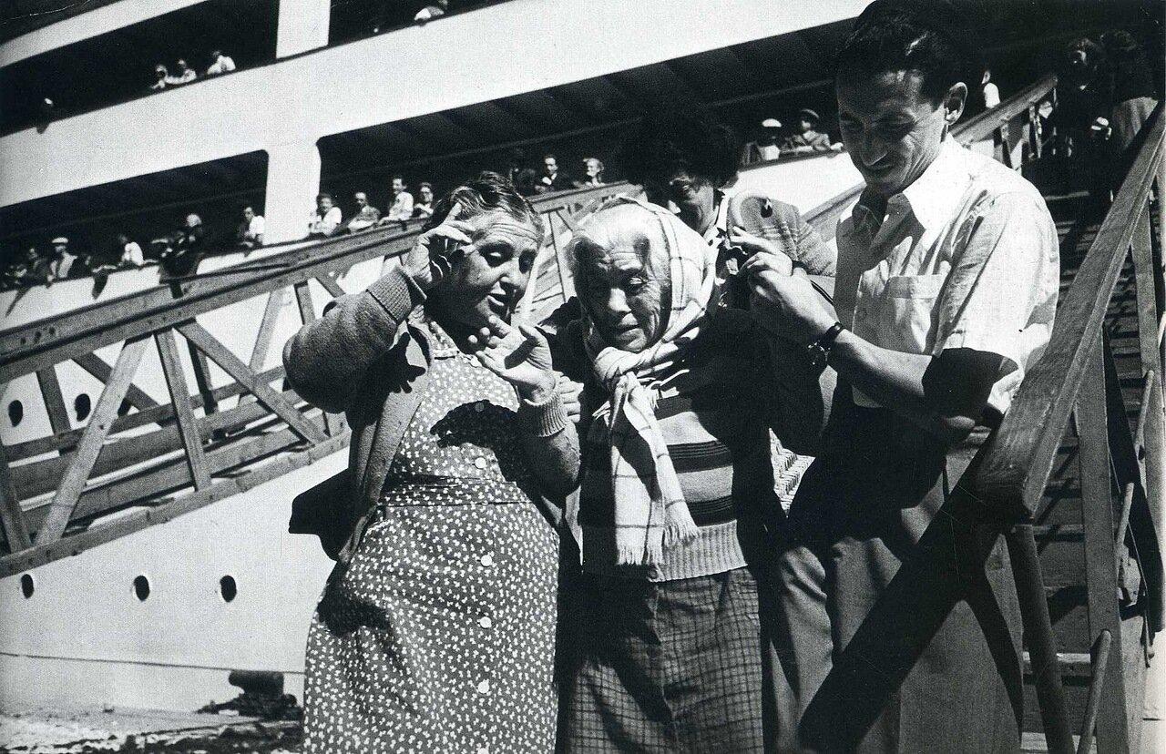 1949. Еврейские иммигранты в Хайфе