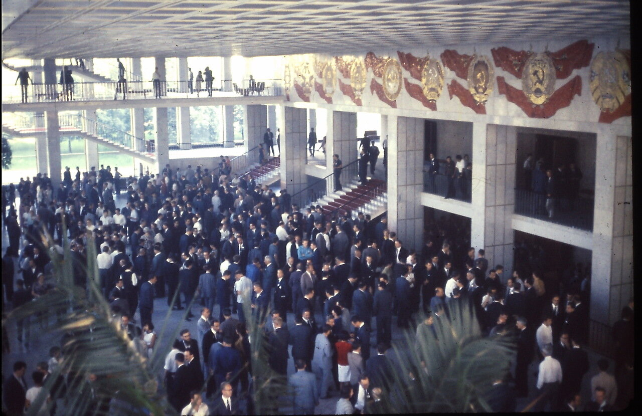 International Congress of Mathematicians opening at Palace of Congresses, Kremlin, Moscow, U. S. S. R., August 1966