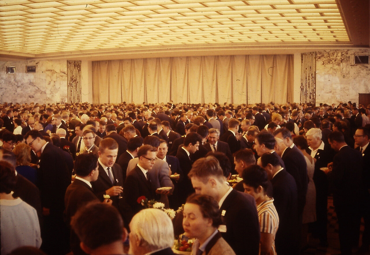 Palace of Congresses final banquet (6 ruble)