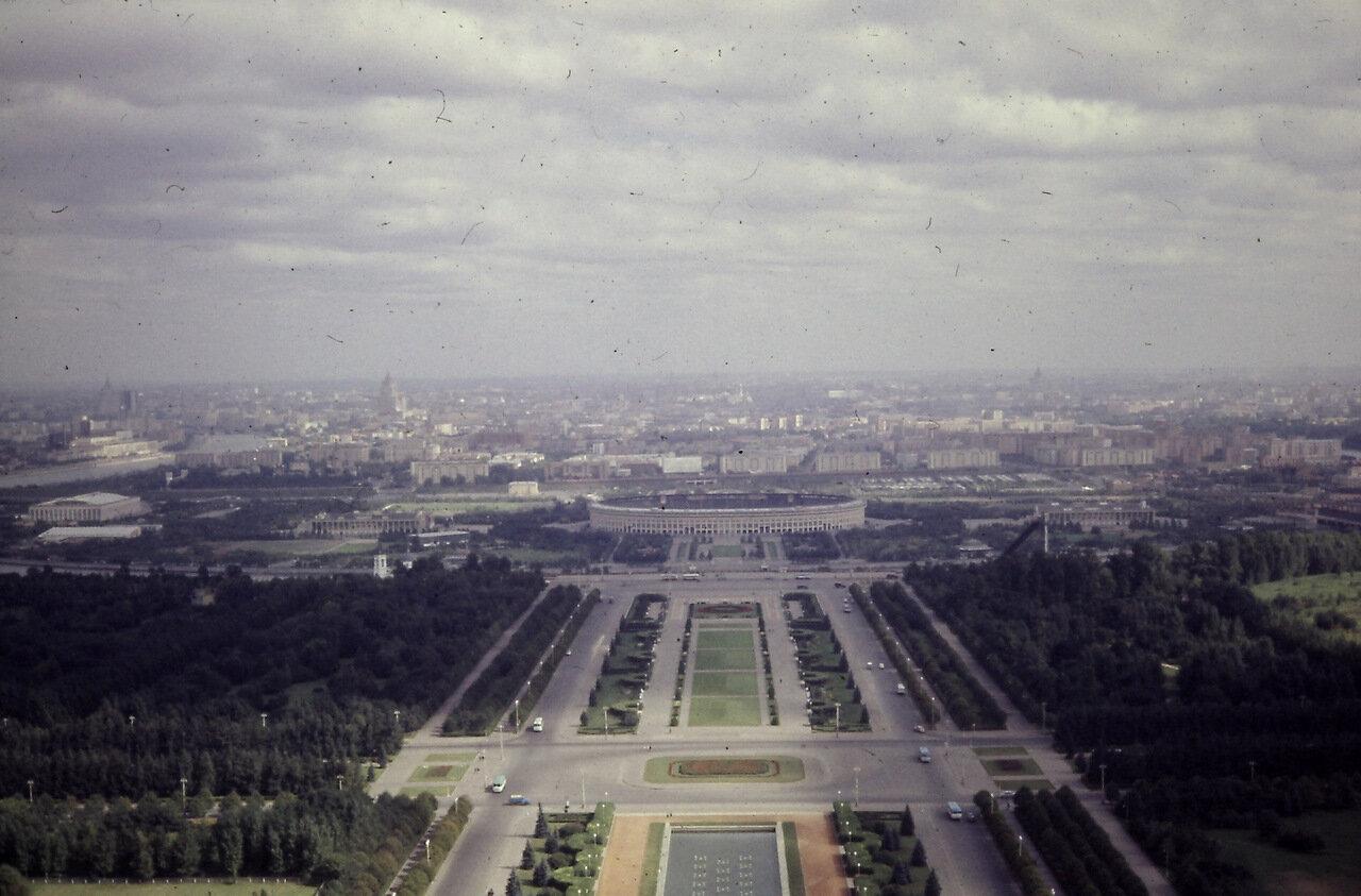 Lenin Hills, Moscow, USSR