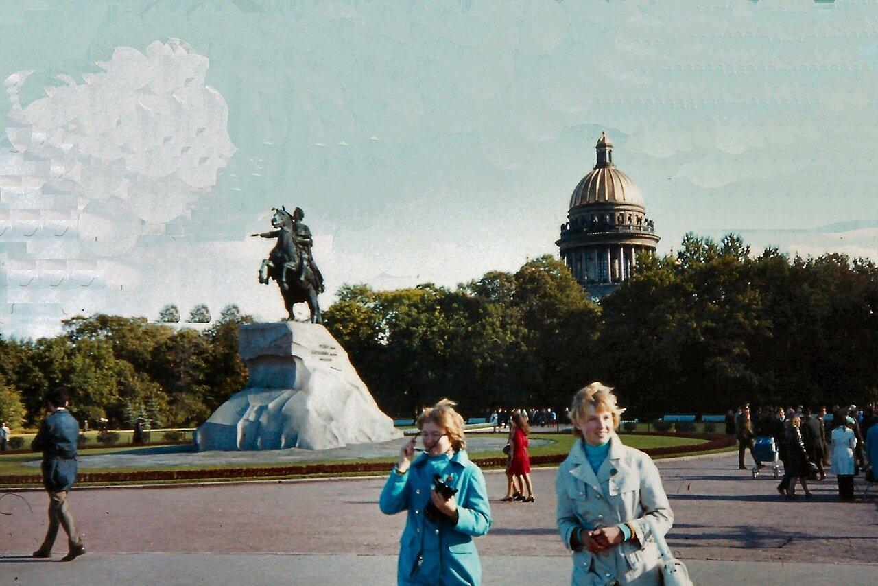 Léningrad - Statue de Pierre le Grand, fondateur de la ville