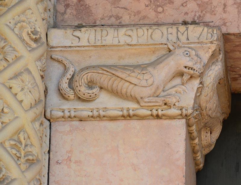 Рельефы Собора в Модене