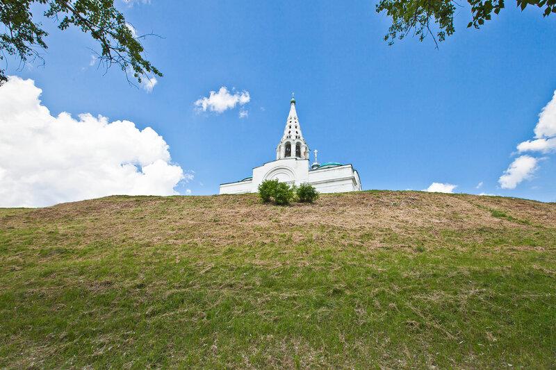 Троицкиая церковь на Соборной Горе - Сепухов