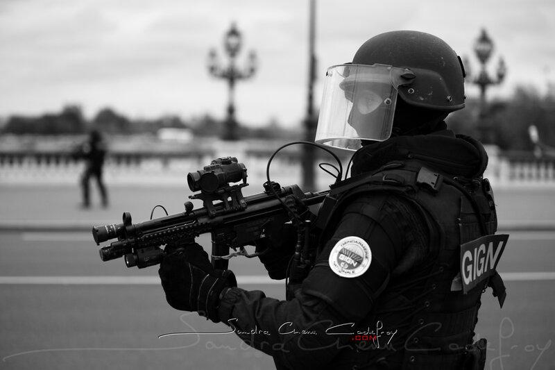Groupe d'Intervention de la Gendarmerie Nationale au JSI 2009