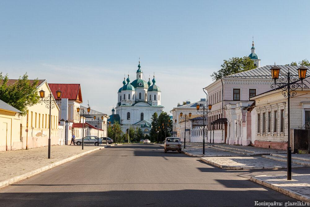 Елабуга, улица Спасская.