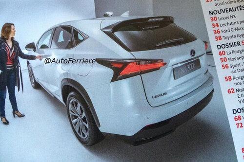 Гибридная версия кроссовера Lexus