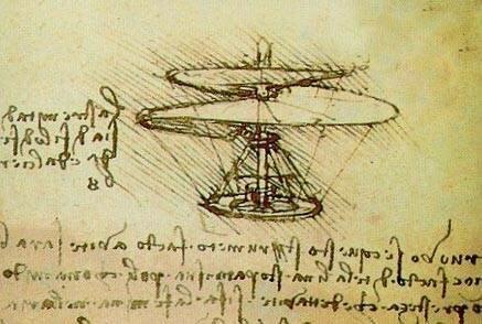 Вертолет Леонардо да Винчи