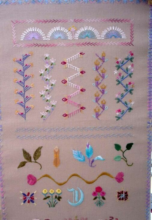Crazy Stitches Patterns For Embroidery Diy Tutorial Ideas