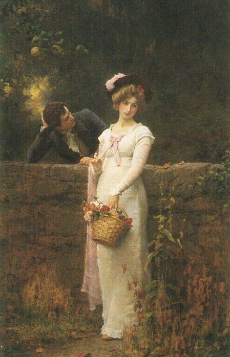 Marcus Stone (British, 1840-1921)Persuasion
