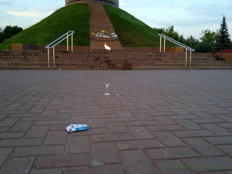 Пьяный свадебный вандализм