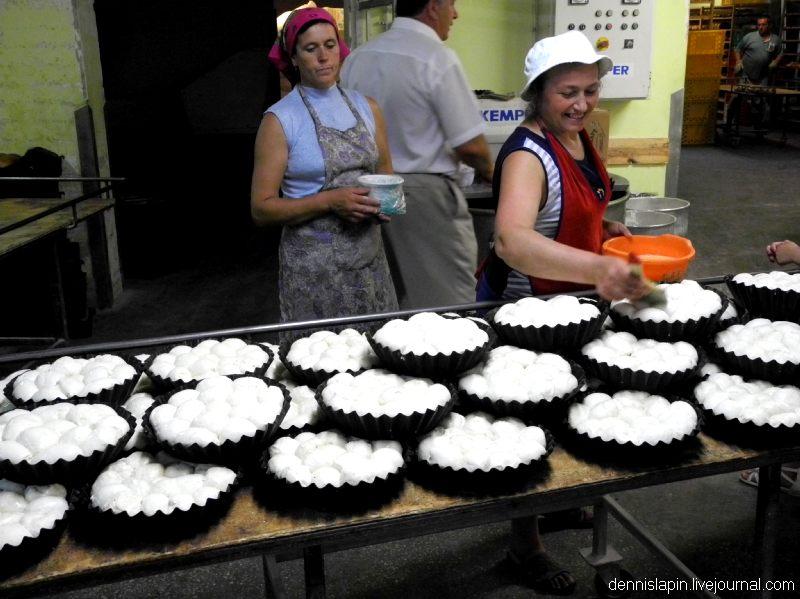 Как пекут хлеб на Украине