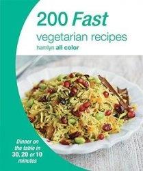Книга 200 Fast Vegetarian Recipes (Hamlyn All Color)