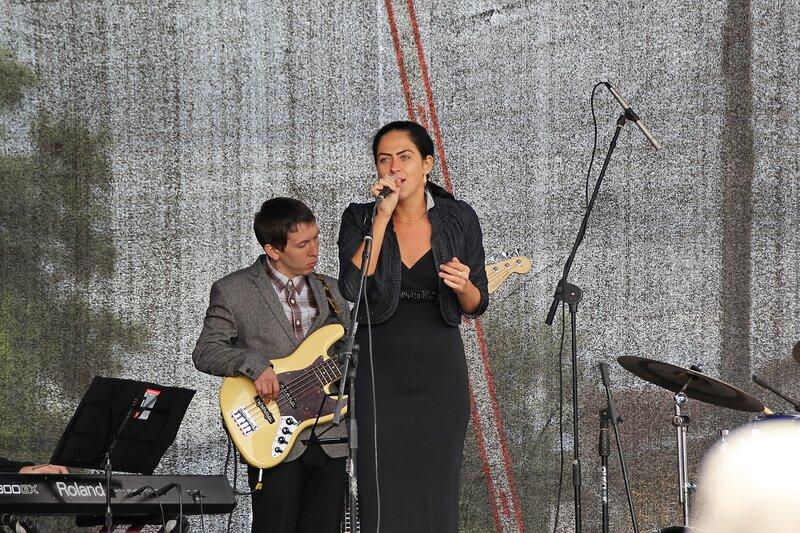 на фестивале «Джаз над Вяткой»