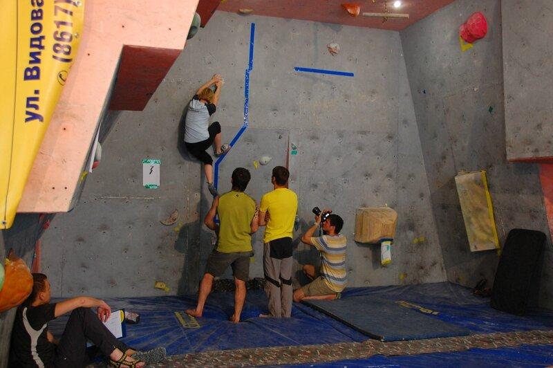 Соревнования Боулдеринг Геленджике 2014