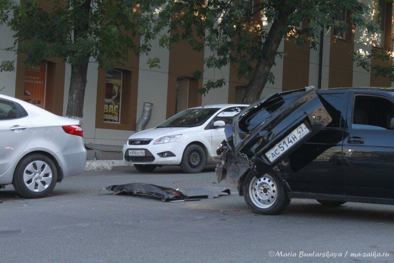 Поцелуйчик удался, Саратов, Московская / Октябрьская, 11 августа 2013 года