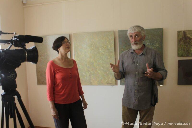 Выставка 'Две реки', Саратов, дом Павла Кузнецова, 13 августа 2013 года