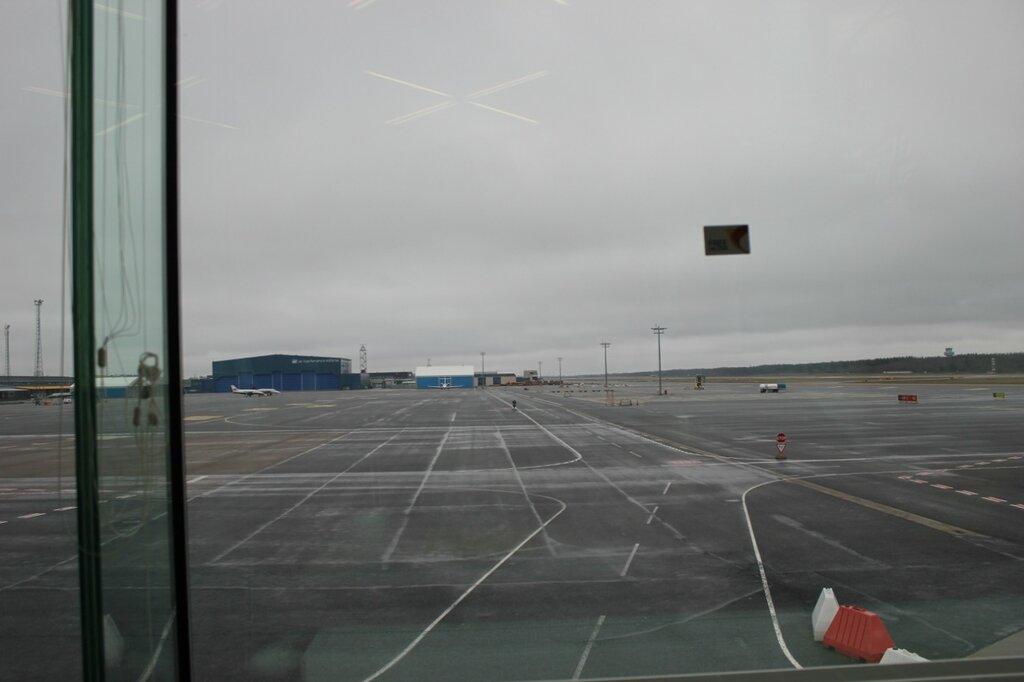 в таллинском аэропорту