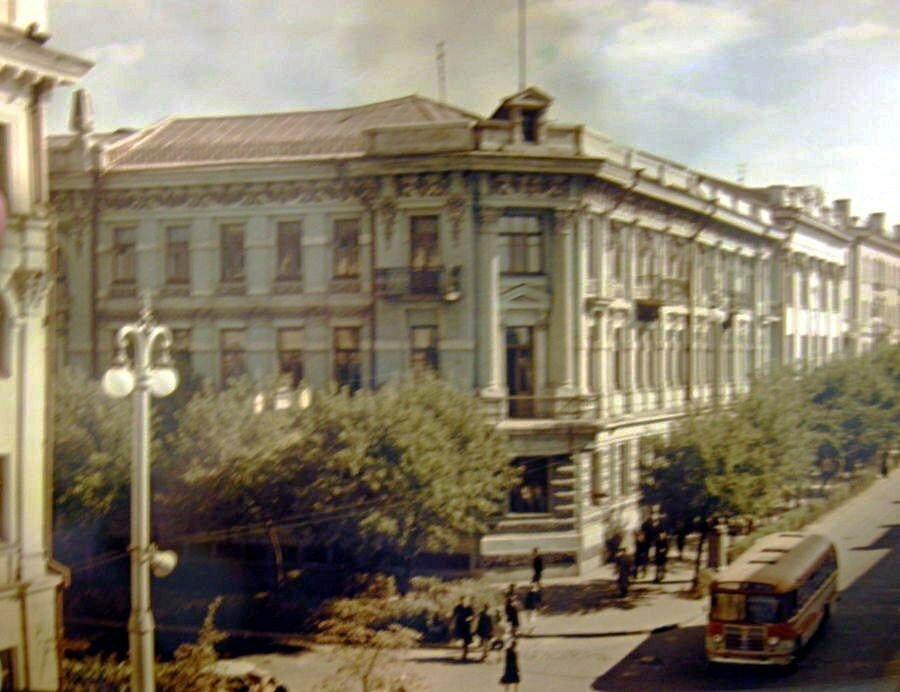 Гомель, застройка Гомеля, Старое фото, Виленский коммерческий банк