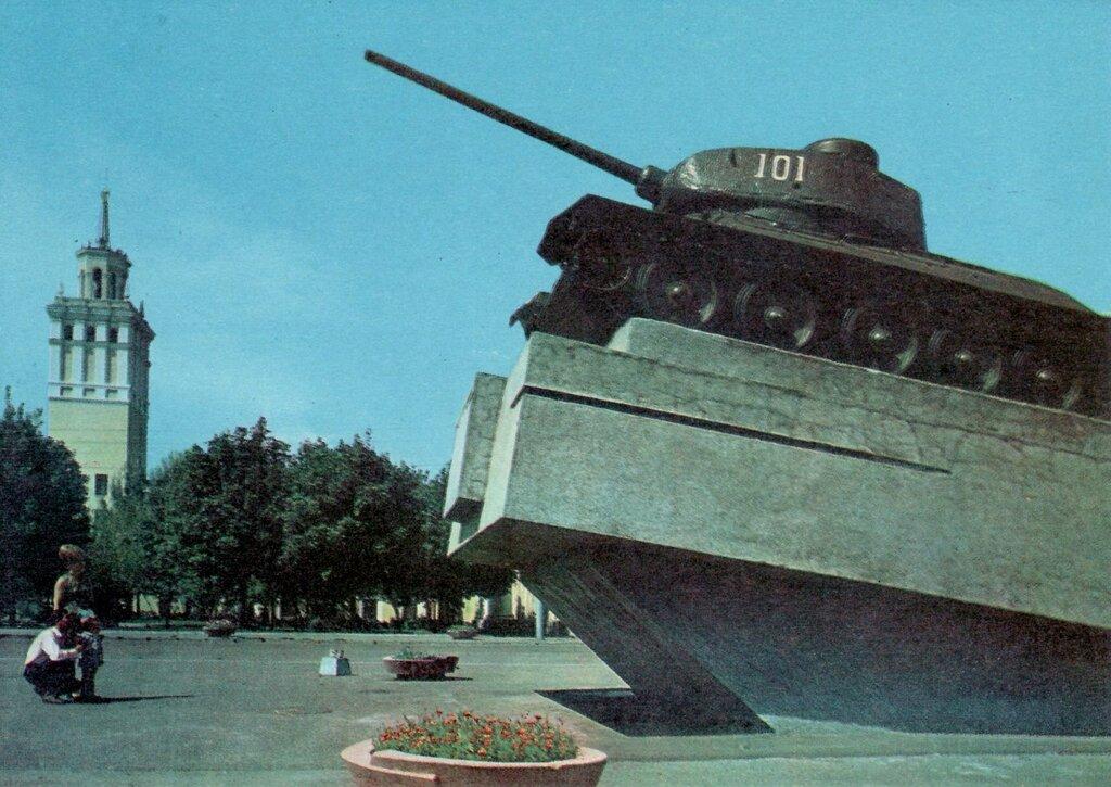 Гомель, площадь Восстания, старое фото