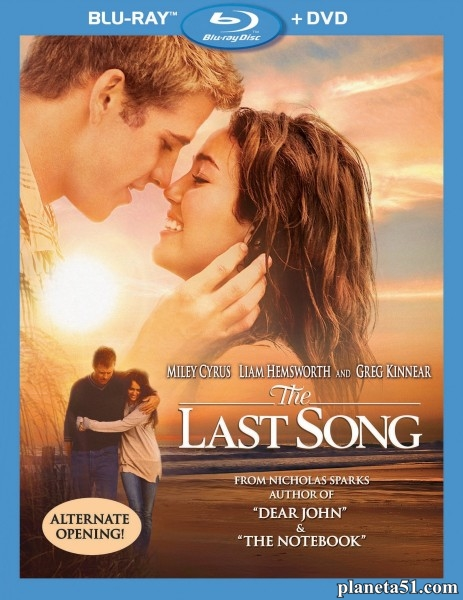 Последняя песня / The Last Song (2010/HDRip)