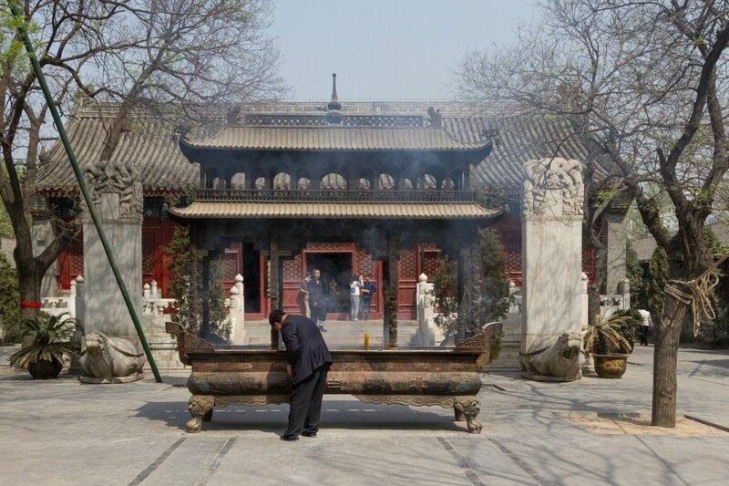 Зал Юйхуандянь, храм Белого облака, Пекин