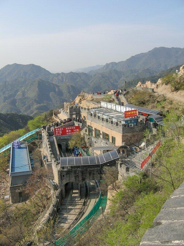 Станция фуникулера, Великая китайская стена, Бадалин