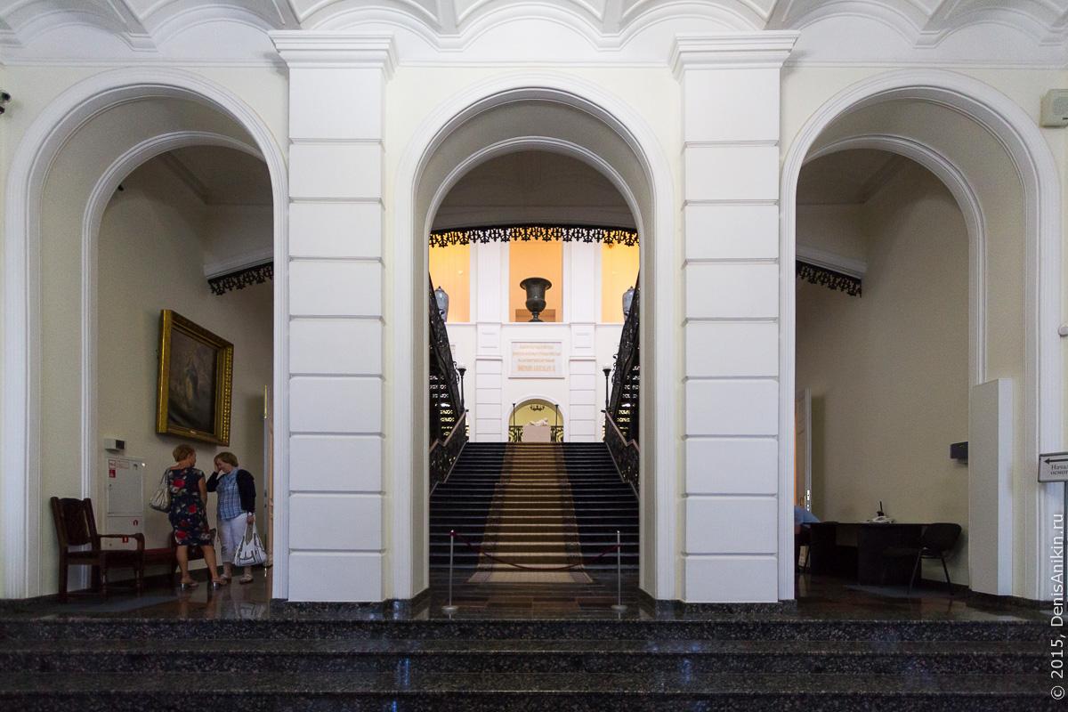 Художественный музей Радищева интерьер 1