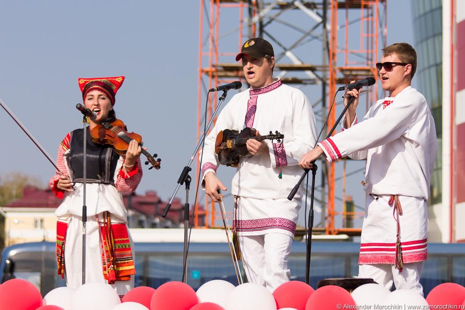 Фолк группа Торама выступление в Саранске