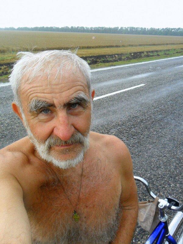 Отмечаем личное присутствие, на дороге, у велосипеда ... SAM_8161.JPG