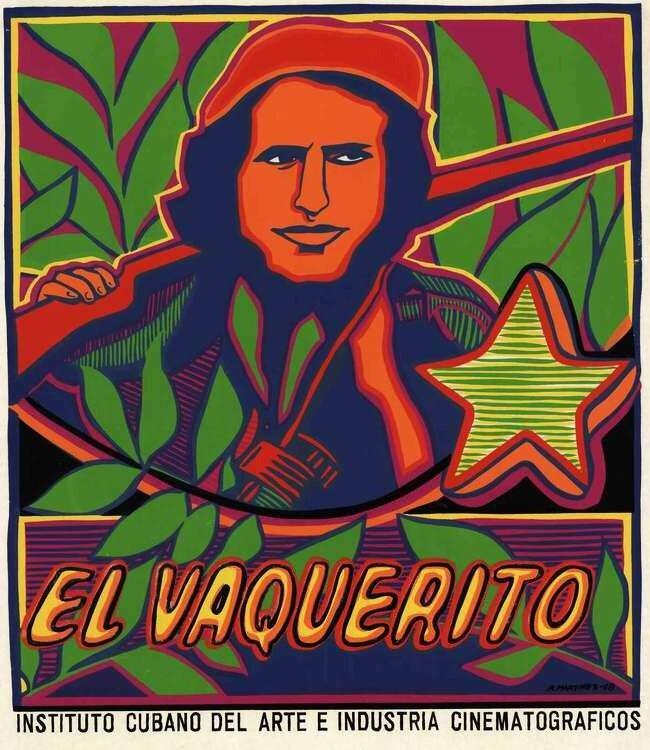 Малыш Ковбой - герой кубинской революции Роберто Родригес Фернандес