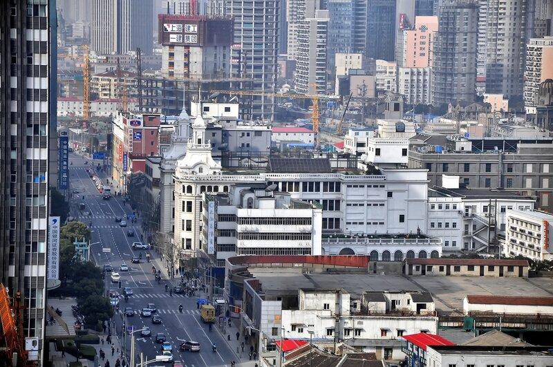Китай. Шанхай. В центре