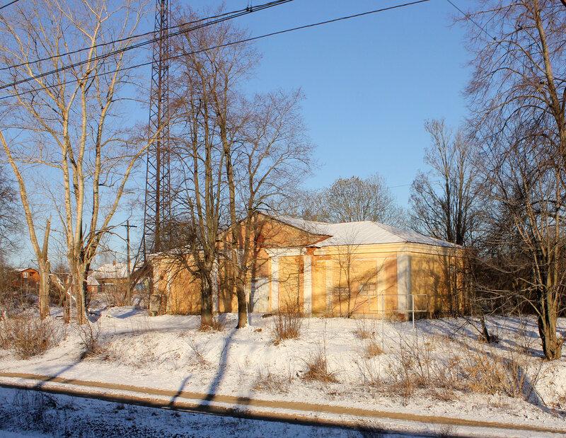 Бывшая станция Мякинино